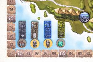 Ahau - steles and artifacts